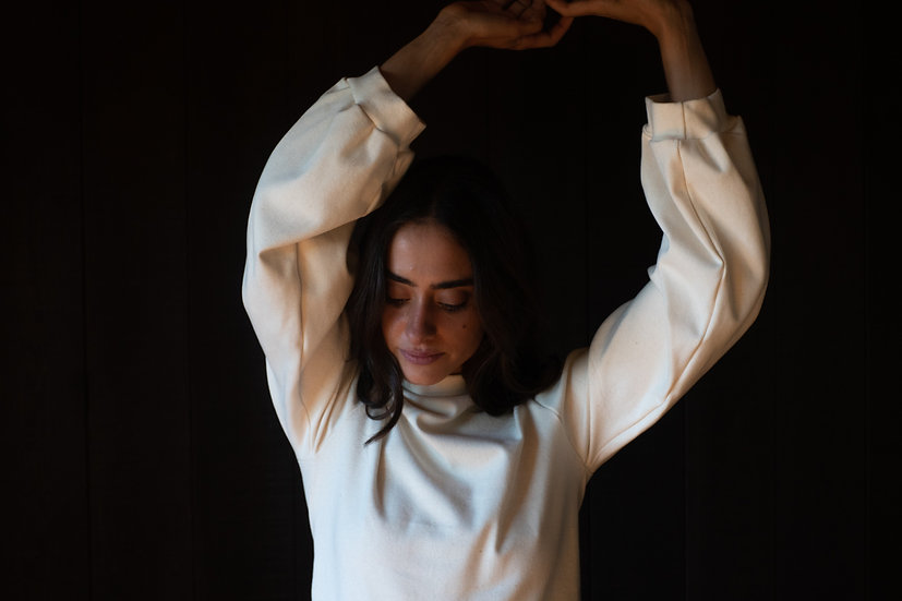 forager top / organic cotton