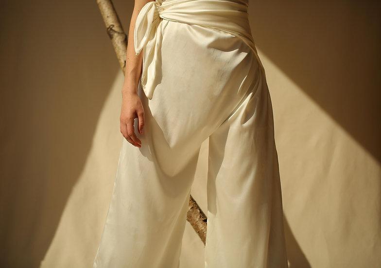 drape pant / silk
