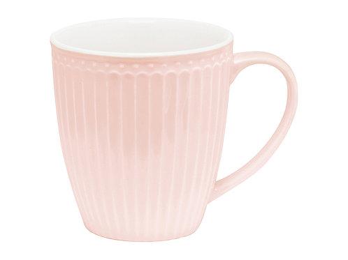 GreenGate - Stoneware-Mug Henkelbecher Alice pale pink