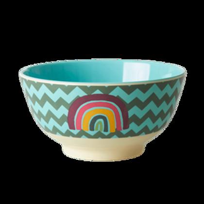 rice - Melamin Bowl - Zig Zag PRINT
