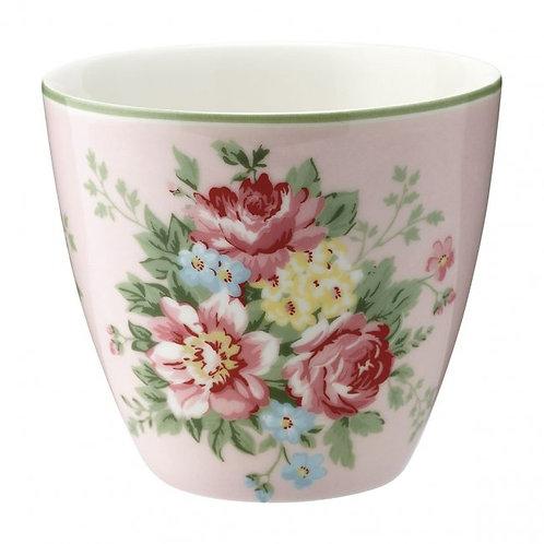 GreenGate - Latte Cup - Aurel pale pink - Becher