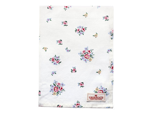 GreenGate - Geschirrtuch -Tea towel Nicoline white - 50 x 70 cm