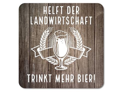 INTERLUXE LED Untersetzer - Bier