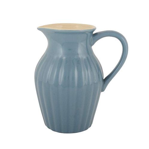 Ib Laursen - Krug - Kanne - Mynte - cornflower - blau