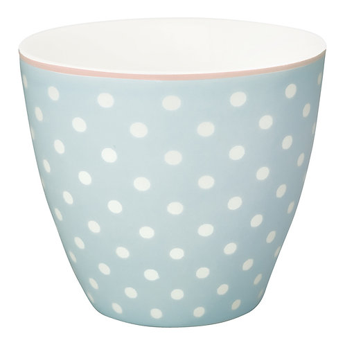 GreenGate - Latte Cup - Spot pale blue - Becher