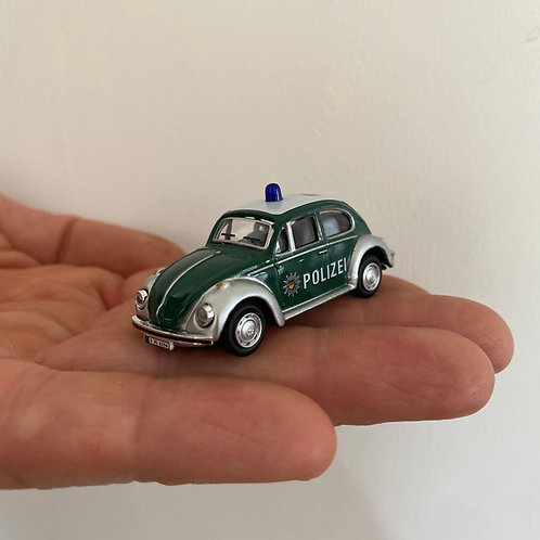 Käfer Polizeiauto - Magnet - Kühlschrank Magnet