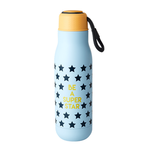 rice - Edelstahlflasche Bottle - BE A SUPER STAR