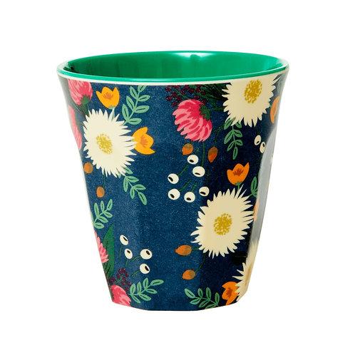 rice - Melamine Cup - WEDDING BOUQUET - Medium - Becher