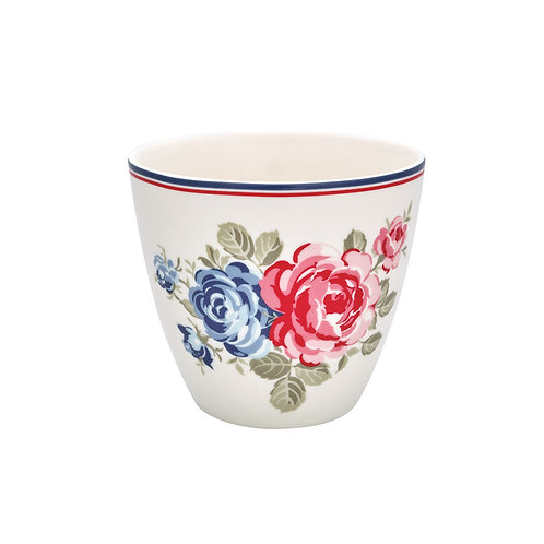 GreenGate - Latte Cup - Haily white - Becher - 50 x 70 cm