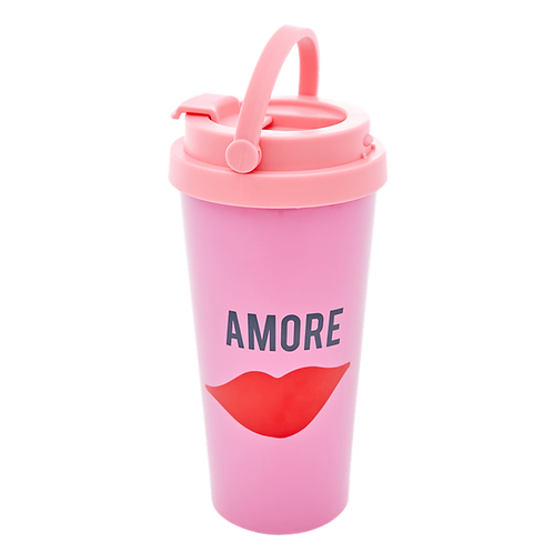rice - THERMOSBECHER - Pink - Amore