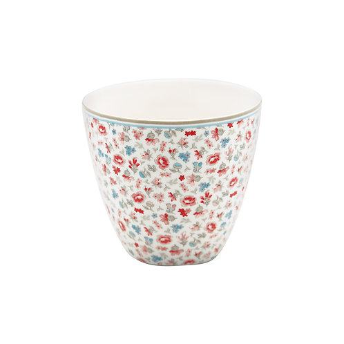 GreenGate - Latte Cup - Tilly white - Becher