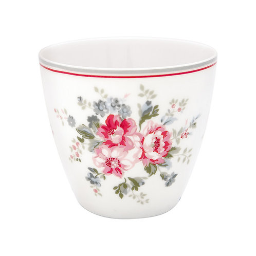 GreenGate - Latte Cup -Elouise white - Becher