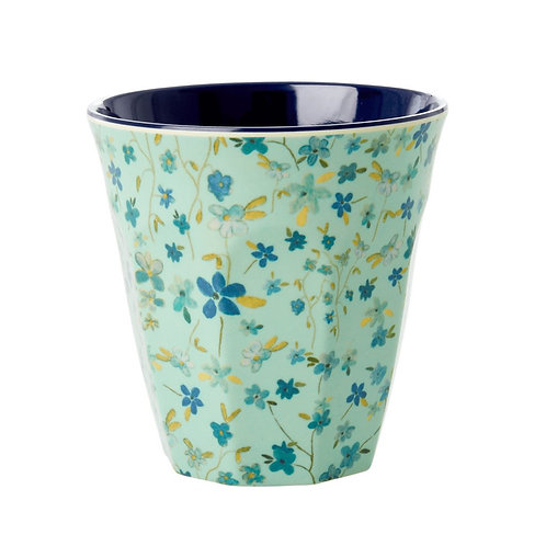 rice - Melamine - Becher - floral print - Medium
