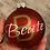 Thumbnail: Personalisierte Christbaumkugel - ein Großbuchstabe mit Schriftzug