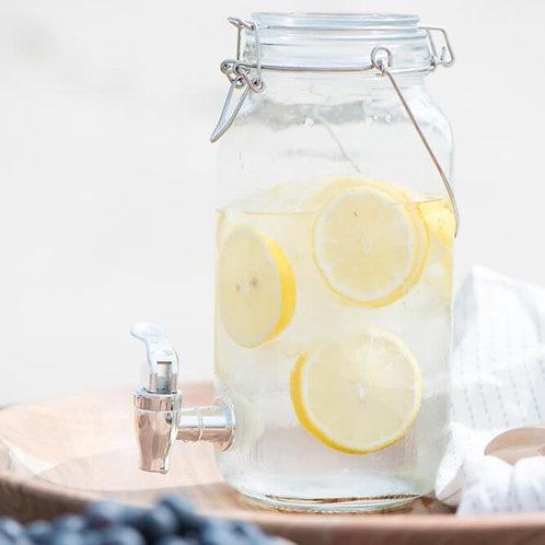 IB Laursen - Getränkespender mit Zapfhahn - Glas - 2 Liter