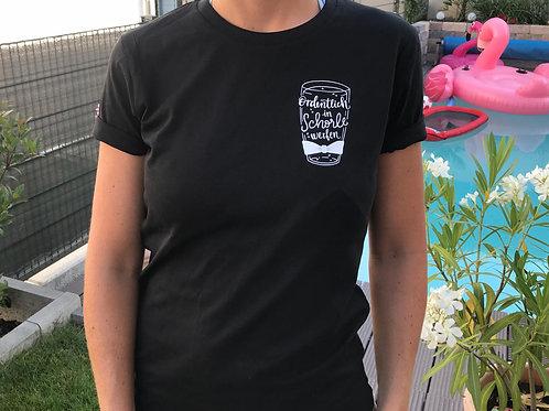 T-Shirt Ordentlich in Schorle werfen