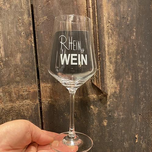 Weinglas - RHEINer WEIN
