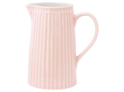GreenGate - Stoneware - Kanne Alice - pale pink