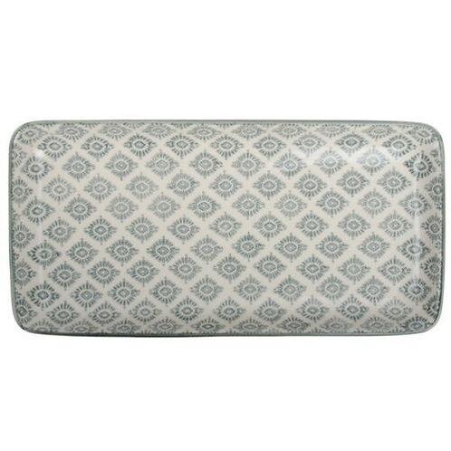 Ib Laursen - Tablett Casablanca - Teller rechteckig - grau