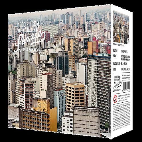 Kylskapspoesi - Sao Paulo by Jens Assur - unkultige Puzzle waren gestern