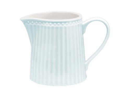 GreenGate - Stoneware - Creamer pale blue - Milchkännchen