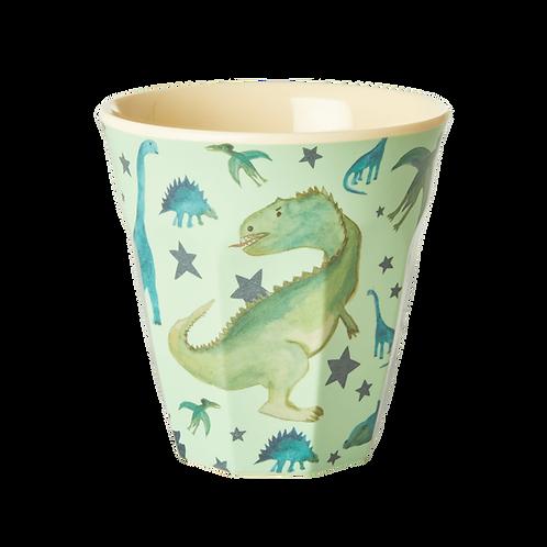 rice - Melamine Cup - Dino Print - Medium - Becher