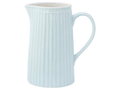 GreenGate - Stoneware - Kanne Alice - pale blue