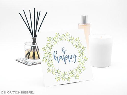 Interluxe Duftsäckchen - Be Happy - limitiert - Duftsorte Frische Wäsche