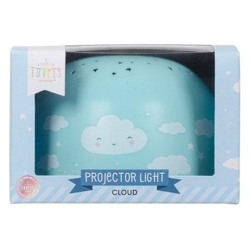 A Little Lovely Company - Projektorlampe - Wolke
