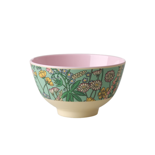 rice - Small Melamine Bowl - Lupinen Print