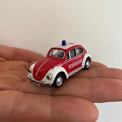 Käfer Feuerwehrauto - Magnet - Kühlschrank Magnet