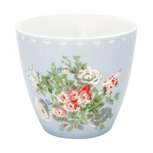 GreenGate - Latte Cup -  Petricia pale blue - Becher