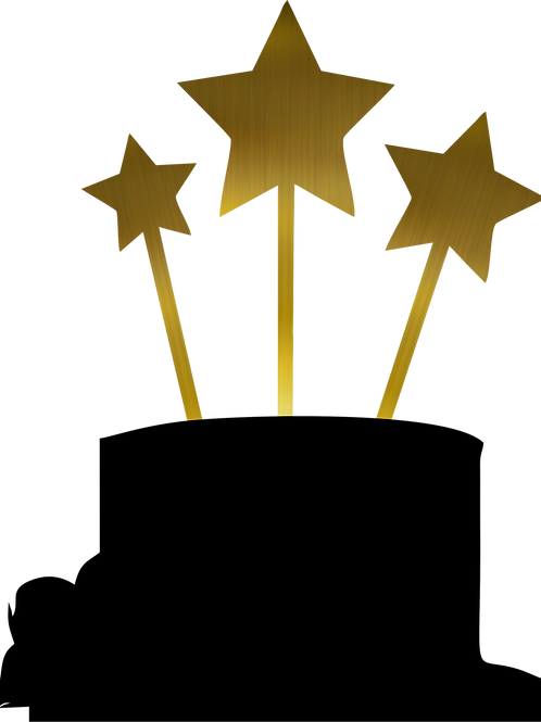 Set Estrellas Toppers