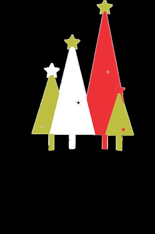 Set Árboles Navidad Toppers