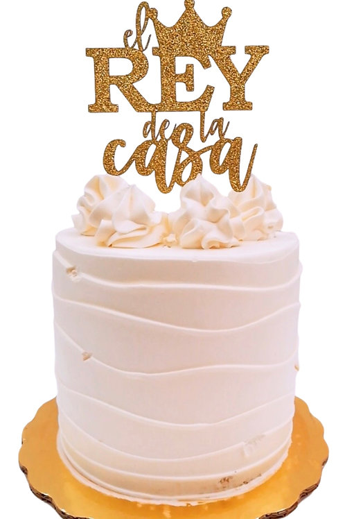 CAKE TOPPER CART. 12cm