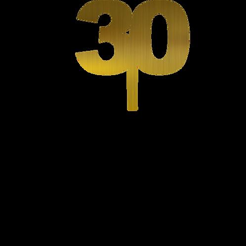 30 molde Topper