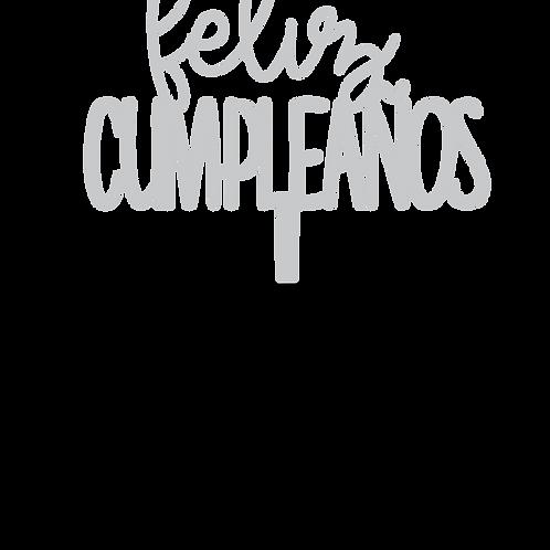 Feliz Cumpleaños 4 Topper