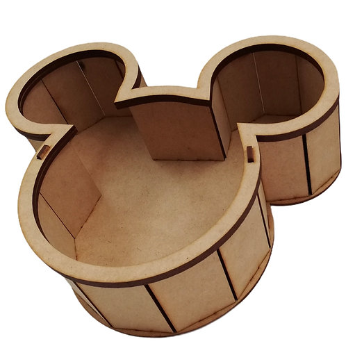 CAJA MICKEY NATURAL