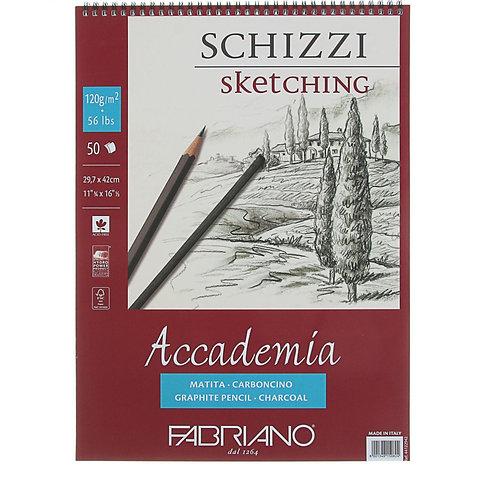 Block Academia Sketching