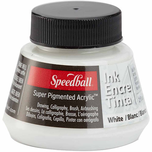 Tinta Speedball Blanca