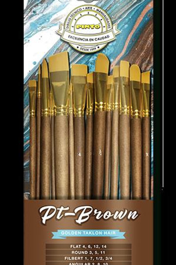 SET PT- BROWN PINCEL TAKLON