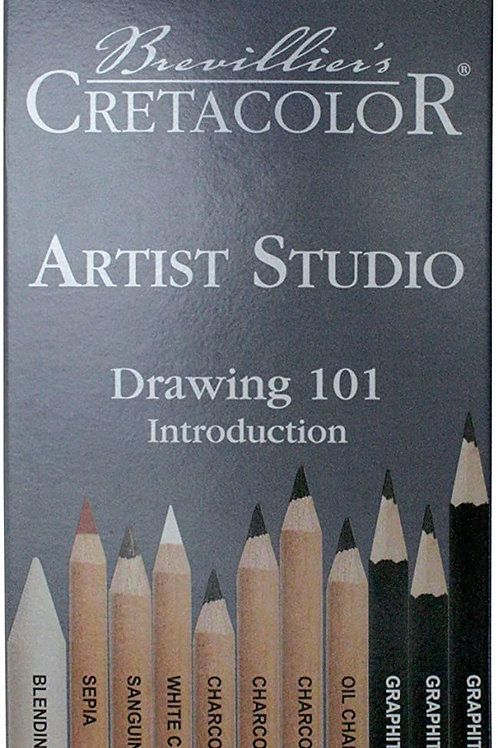 CRETACOLOR ARTIST STUDIO DRAWING 101