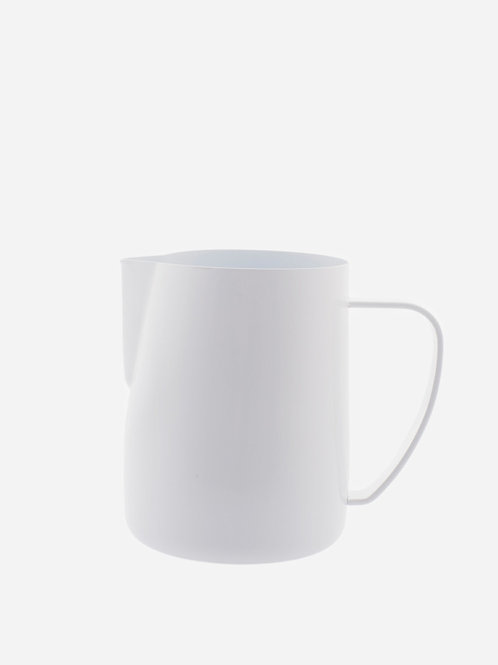 Latte Art milk pitcher Competition-Line white coating 350ml