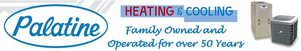 Palatne Heating & Cooling Logo
