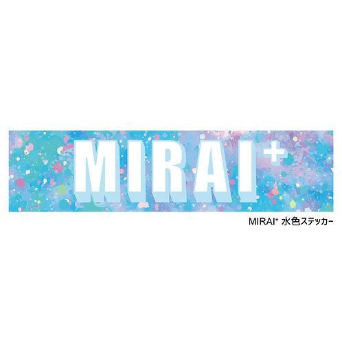 MIRAI+ステッカー (Sticker)