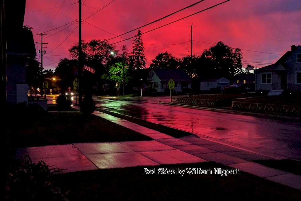 Red Skies Large