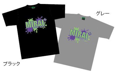 MIRAI+ドライTシャツ