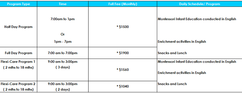 Infant Price List.PNG