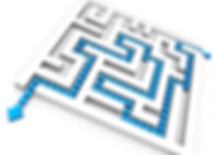 square_maze_with_solution_path_for_probl