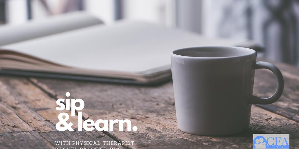 Sip & Learn with Rachel Parotta, DPT